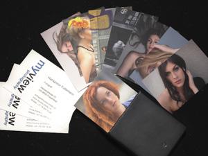 Neue Visitenkarten Myview Photography