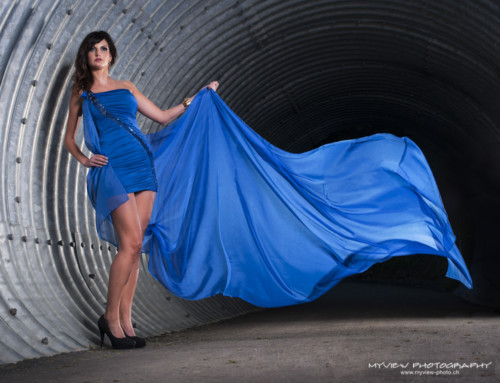 Blue – Shooting mit Mirjam