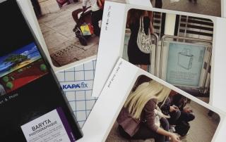 Photopapier und Leichtschaumplatten