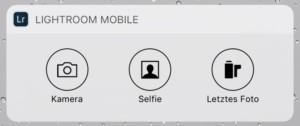 Widget auf dem iPhone